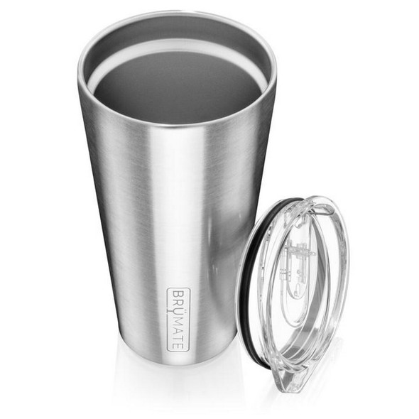 Imperial pint glass insulated stainless steel by Brumate