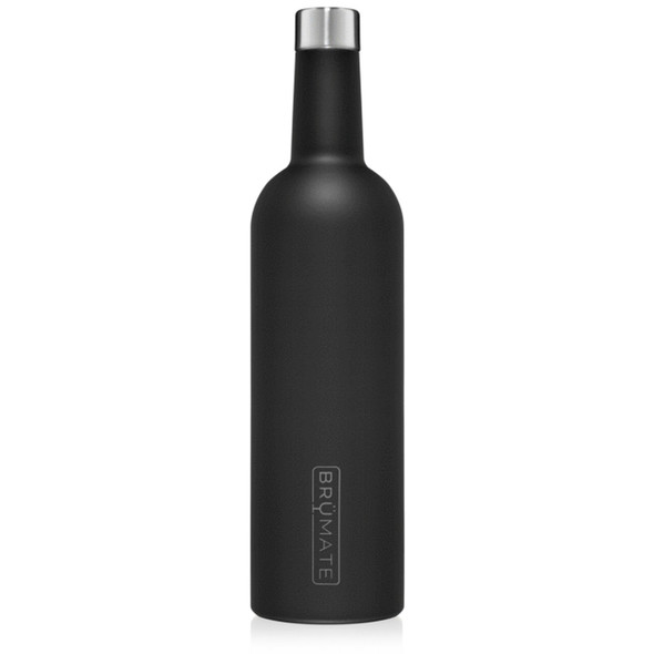 Wine canteen in matte black by Brumates from The Nut House