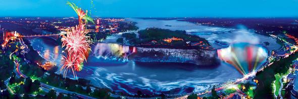 American Vistas - Niagara Falls 1000 Piece Panoramic Jigsaw Puzzle