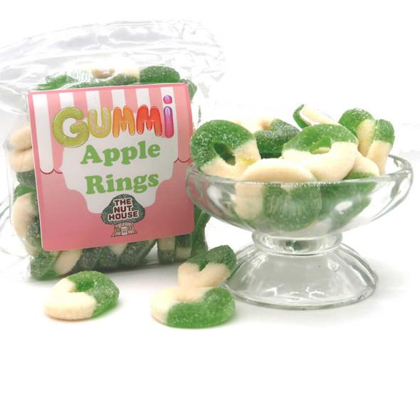 Gummi Apple Rings 10 oz Gummis-Frogs-Worms The Nut House