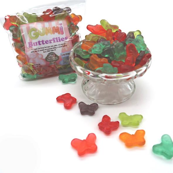 Gummi butterflies 10 oz