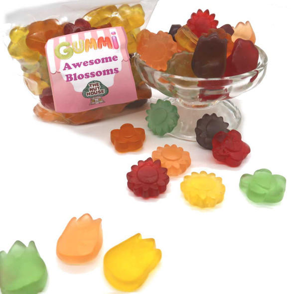 Gummi Awesome Blossoms 10 oz Gummis-Frogs-Worms The Nut House