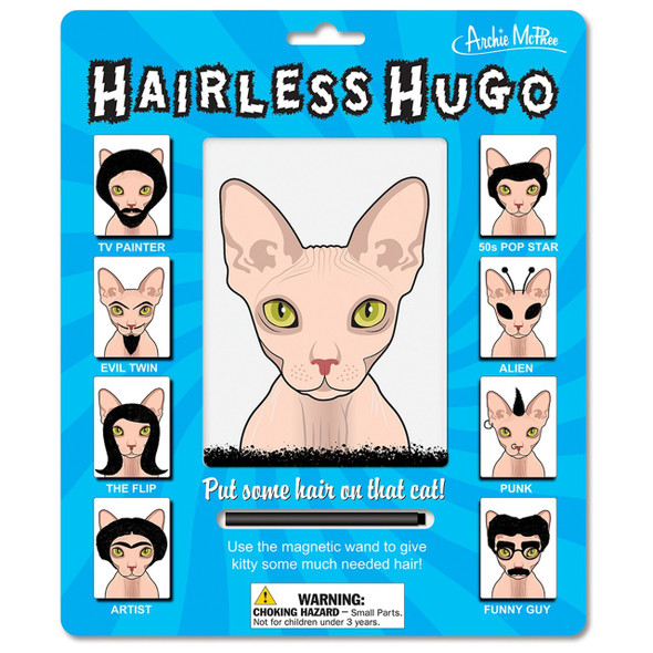 Hairless Hugo Magnetic Naked Cat Activity