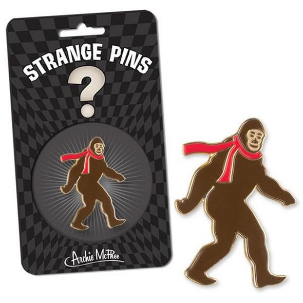 Bigfoot Strange Pin