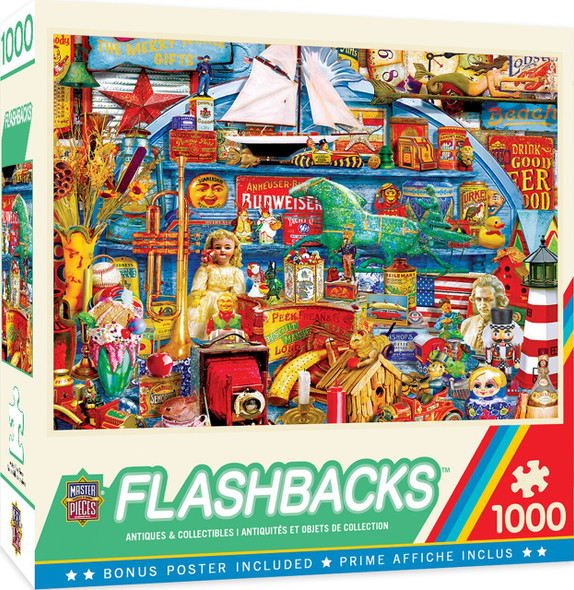 Flashbacks - Antiques & Collectibles - 1000 Piece Jigsaw Puzzle