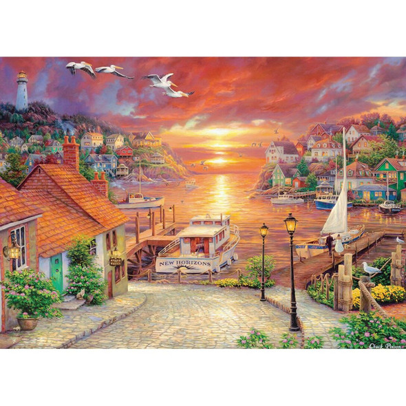 Chuck Pinson Gallery - New Horizons 1000 Piece Jigsaw Puzzle