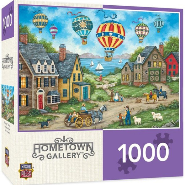 Hometown Gallery - Passing Through 1000 Piece Jigsaw Puzzle by Bonnie White