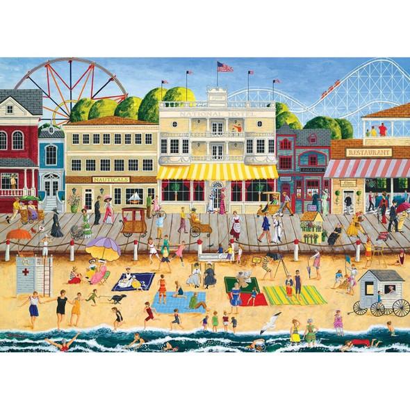 Hometown Gallery - On the Boardwalk 1000 Piece Jigsaw Puzzle by Art Poulin
