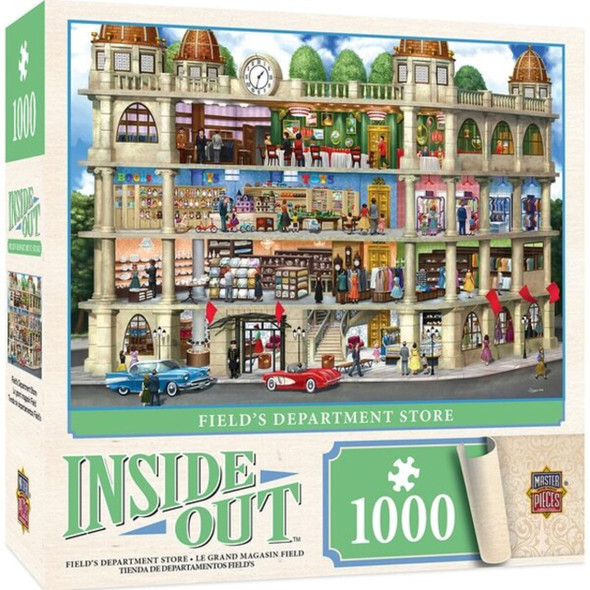 Inside Out - Fields Department Store 1000 Piece Jigsaw Puzzle