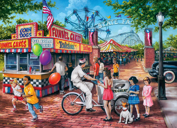 Childhood Dreams - Summer Carnival 1000 Piece Jigsaw Puzzle