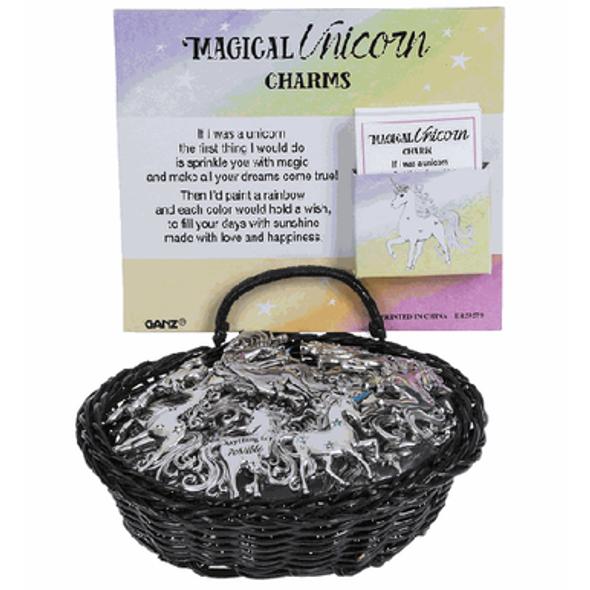 Magical Unicorn Charm Charms & Pocket Tokens The Nut House