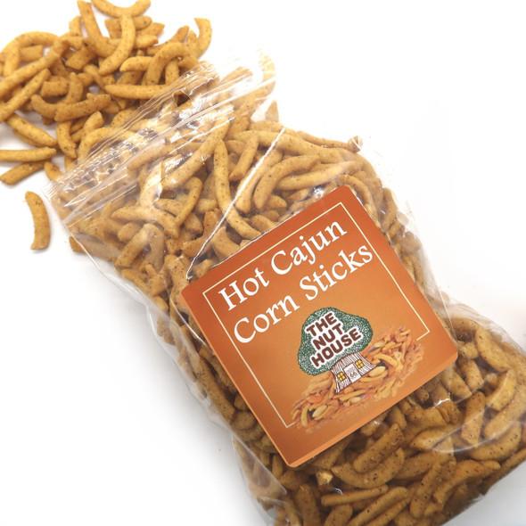 Hot Cajun Corn Sticks 8 oz