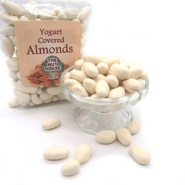Yogurt Covered Almonds 12 oz Candied Almonds The Nut House