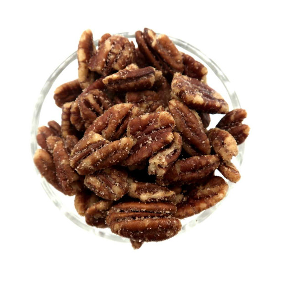 Hickory Smoked Pecans 8 oz Salted & Spiced Pecans The Nut House