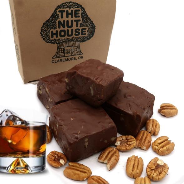 A favorite - decadent chocolate rum nut fudge. So delicious!!