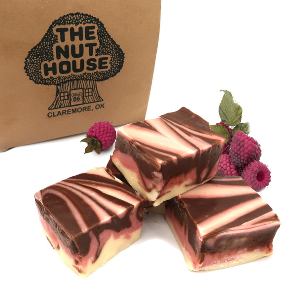 Raspberry Chocolate Dream Fudge - 1 lb.