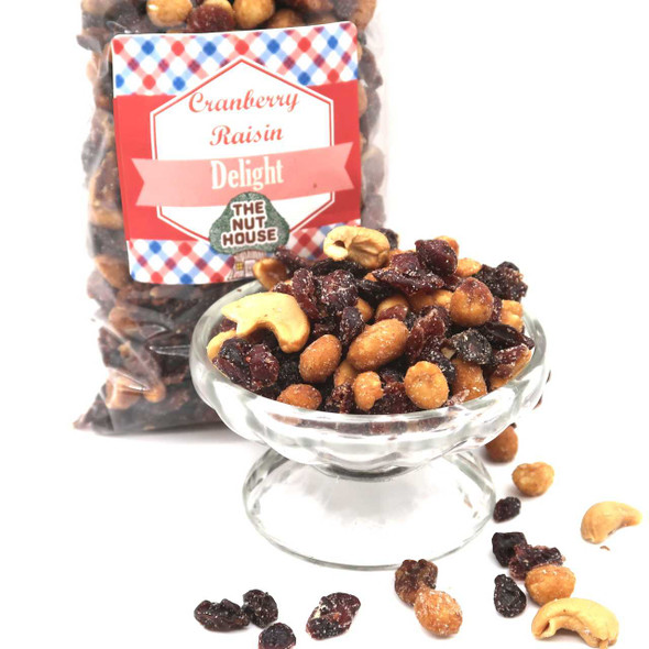 Cranberry Raisin Delight Mix 12 Snack Mixes The Nut House