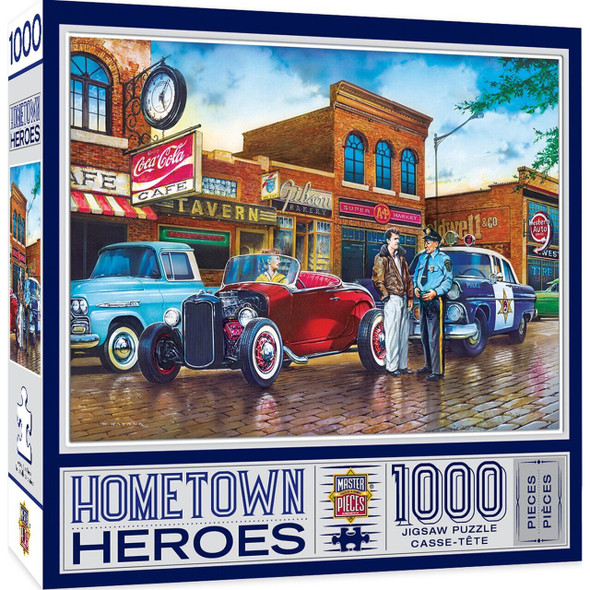 Hometown Heroes a Little Too Loud -1000 Piece Jigsaw Puzzle by Dan Hatala