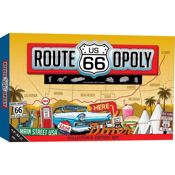 Route 66-Opoly Jigsaw Puzzles The Nut House