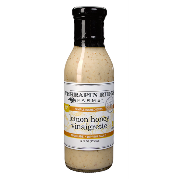 Lemon Honey Vinaigrette dressing and marinade from Terrapin Ridge