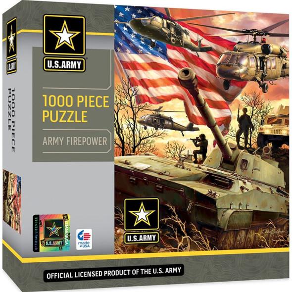 U.S. Army Firepower - 1000 Piece Jigsaw Puzzle