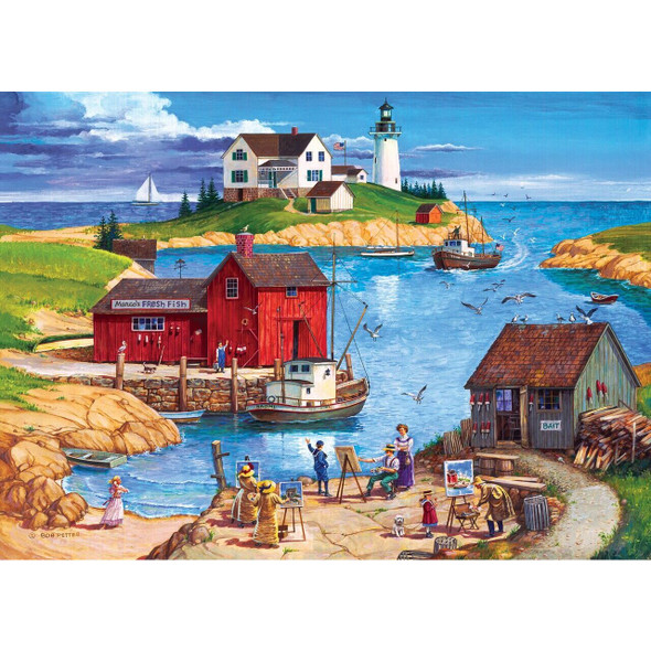 Hometown Gallery - Ladium Bay - 1000 Piece Jigsaw Puzzle