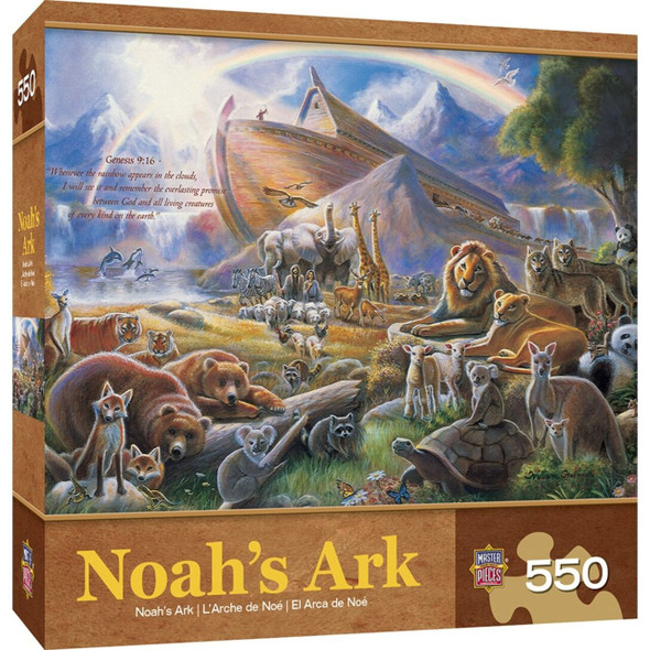 Inspirational Noah's Ark 550 Piece Jigsaw Puzzle