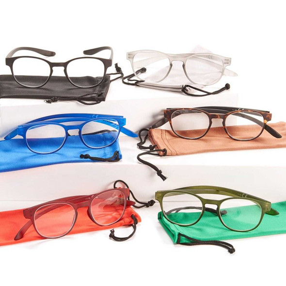 Reading Glasses With Storage Pouch Vision Care The Nut House