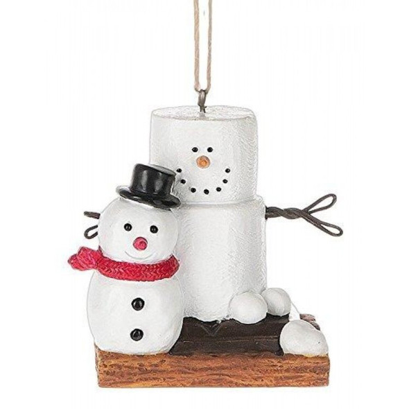 Smore With Snowman Ornament