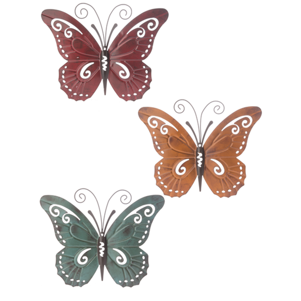 Large Butterfly Wall Decor Wall Decor The Nut House