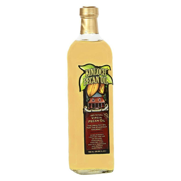 Kinloch Virgin Pecan Oil 750ml Cooking Oils The Nut House