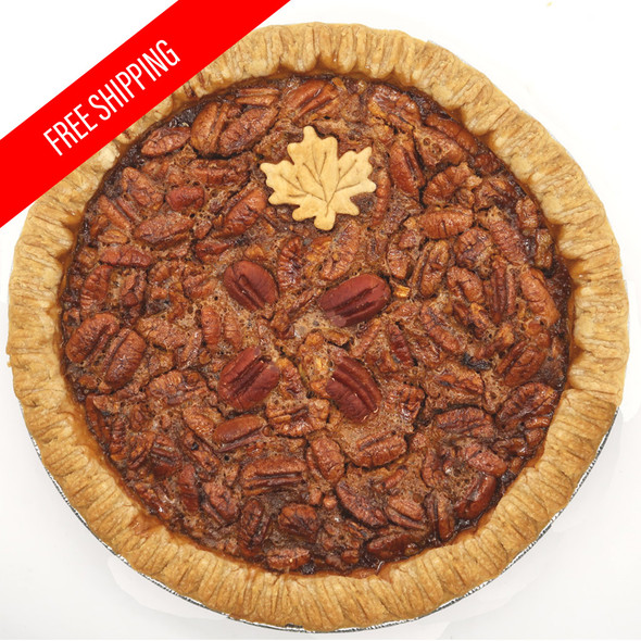 Homemade Pecan Pie Two-Pack Free Ship
