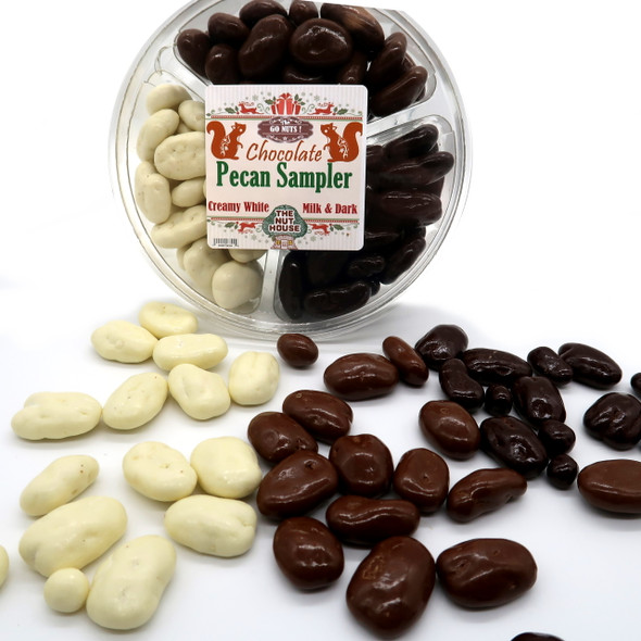 Go Nuts Chocolate Pecan Sampler