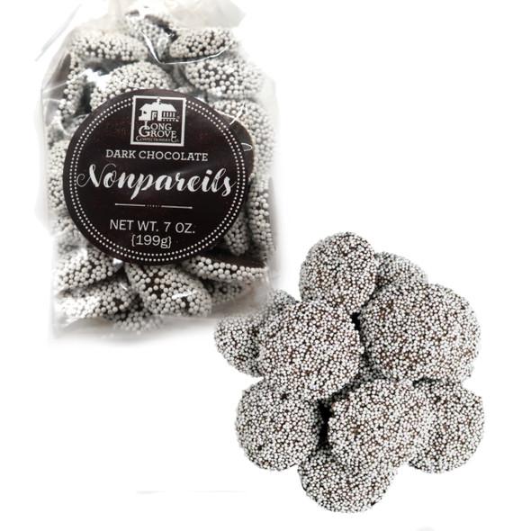 Dark Chocolate Nonpareils 7 oz