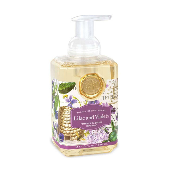 Lilac and Violets Foaming Soap Bar Soaps The Nut House