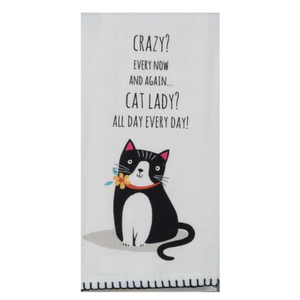 Cat Lady Flour Sack Towel