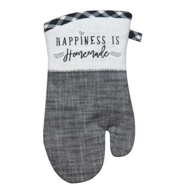 Farmhouse Happiness Is Homemade Oven Mitt