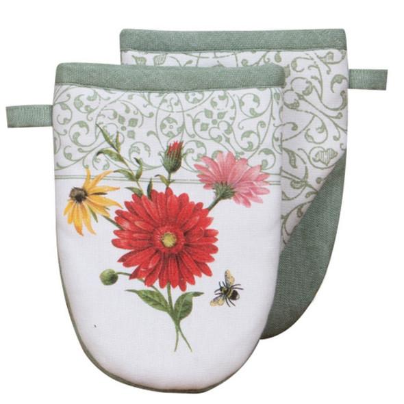 Floral Buzz Grabber Mitt