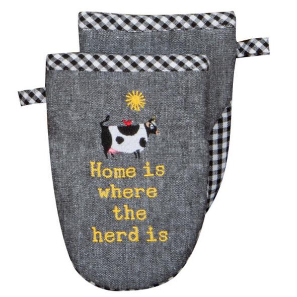Farm Charm Cow Grabber Mitt