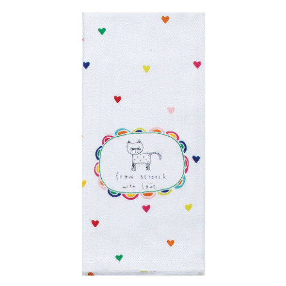 Pet With Love Tea Towel
