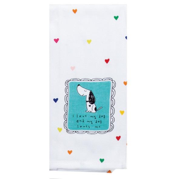 Pet Love My Dog Tea Towel
