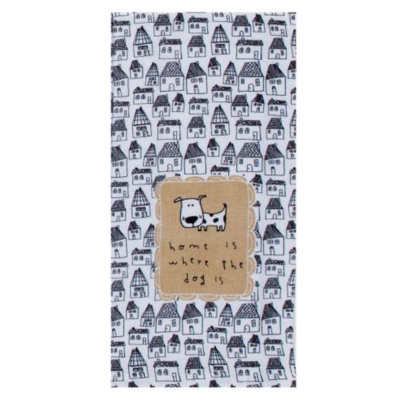 Pet Home Dog Tea Towel