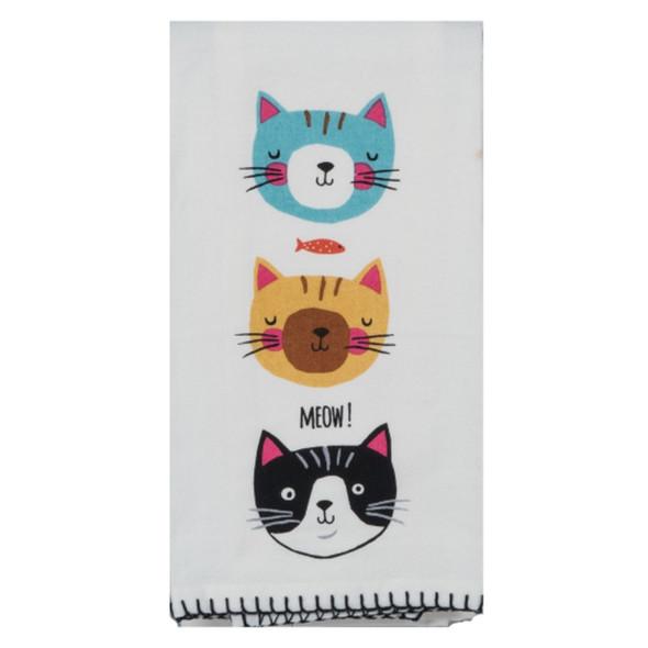 Meow Flour Sack Towel