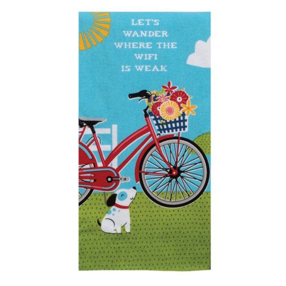 Lets Wander Bike Dual Purpose Terry Towel