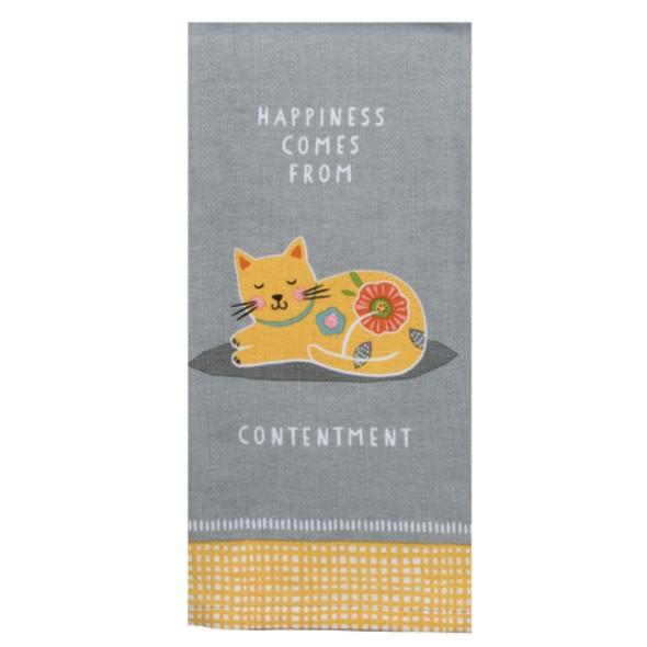 Own A Cat Tea Towel