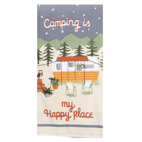 Happy Place Dual Purpose Terry Towel