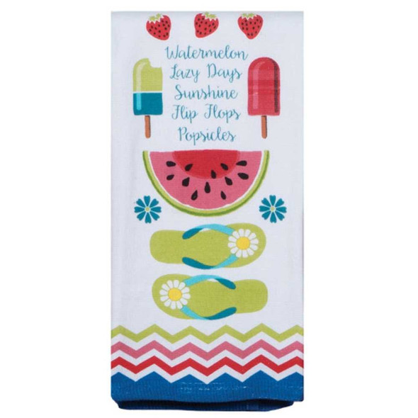 Summer Fun Dual Purpose Terry Towel Kitchen Towels The Nut House