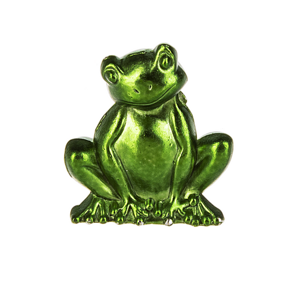 Frogs are considered lucky in many cultures and this little guy is no different. Small enough to tuck into a pocket or coin purse where hopefully his luck will rub off on you! Comes with a sentiment card. FREE SHIPPING