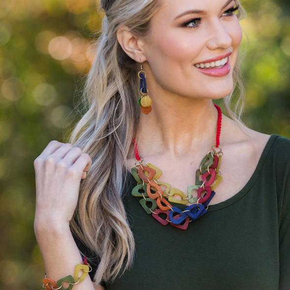 Omala Rainbow Necklace Anju