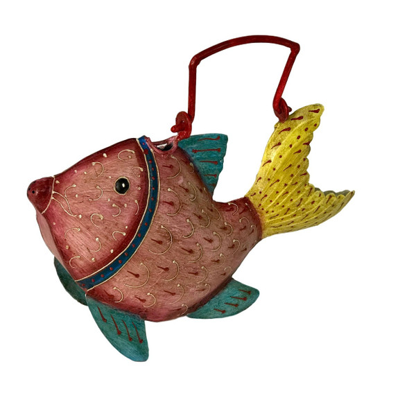 Whimsical Yellowtail Fish Watering Can